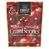 Forest Feast Whole Dried Cranberries - 200g (0.44lbs)