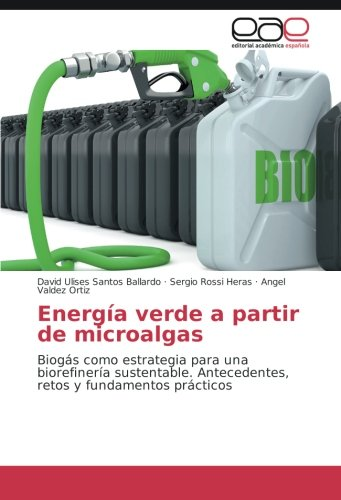 Descargar Libro Energía Verde A Partir De Microalgas: Biogás Como Estrategia Para Una Biorefinería Sustentable. Antecedentes, Retos Y Fundamentos Prácticos David Ulises Santos Ballardo