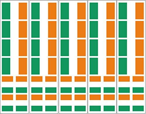 40 Tattoos: Ireland Flag, Irish Party Favors ()