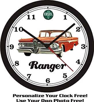 1959 EDSEL RANGER WALL CLOCK-FREE USA SHIP