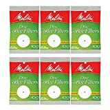 melitta percolator - White Disc Coffee Filter, 100 Count (Pack of 6)