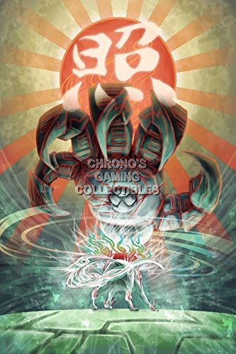 "Price comparison product image CGC Huge Poster - Okami - Nintendo Wii PS2 PS3 - OKA013 (24"" X 36"")"