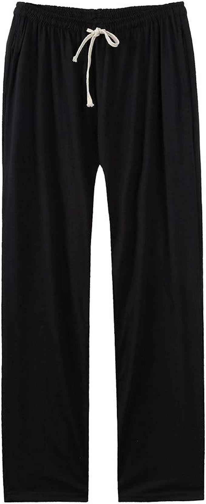 VPASS Pantalones para Hombre,Pantalones Recto Casuales Moda ...
