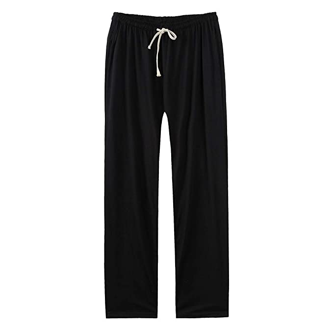 VPASS Pantalones para Hombre,Pantalones Recto Casuales Moda Sueltos Ocasionales Pantalon Fitness Pants Largos Pantalones Ropa de Hombre Traje de Baile