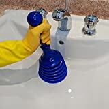Luigi's Sink and Drain Plunger for