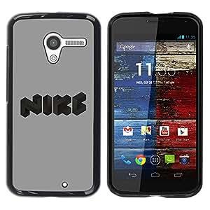 Be Good Phone Accessory // Dura Cáscara cubierta Protectora Caso Carcasa Funda de Protección para Motorola Moto X 1 1st GEN I XT1058 XT1053 XT1052 XT1056 XT1060 XT1055 // Funny logo