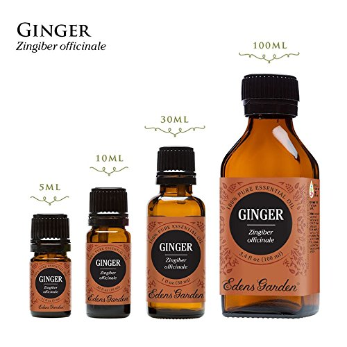 Ginger 100% Pure Therapeutic Grade Essential Oil by Edens Garden