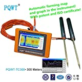PQWT-TC300 auto mapping colourful geoelectrical 300m depth underground water detector