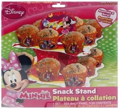 Disney Minnie Mouse Pr/ésentoir /à Cupcakes et collations