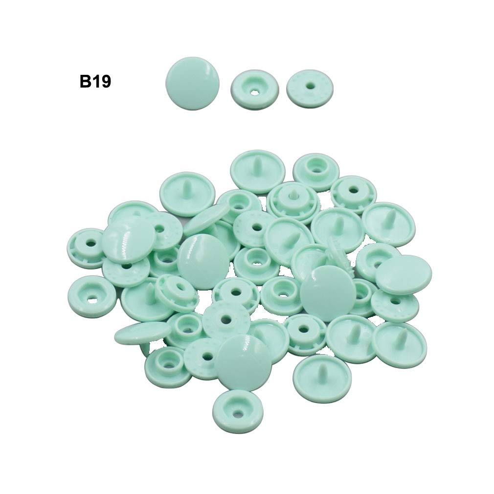 B53 Beige Plastic Snap Button Size 20 1000Sets Sew On Plastic Snap Fasteners for Clothing Glossy T5 Round