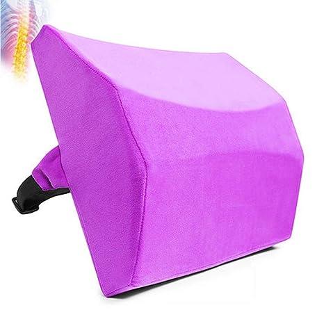 Llsdls Soporte lumbar para silla de oficina | Almohada ...