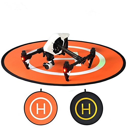 MINIBIGGER-110cm-Landing-Pad-Launch-Pad-HomeBase-RC-Drone-Quadcopter-Helicopter-Fast-fold-helipad-Dronepad-for-DJI-Mavic-Pro-Inspire2-Phantom-4-Phantom-3-2-1-Inspire1-protective-Accessories