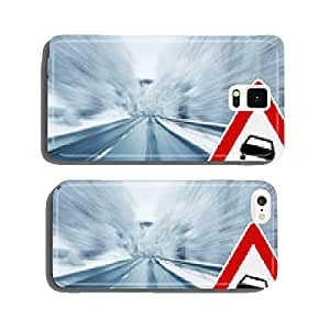 Winter Driving - Caution cell phone cover case iPhone5