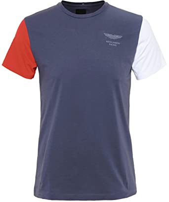 Hackett Aston Martin Racing Logo t-Shirt Gris: Amazon.es: Ropa y ...
