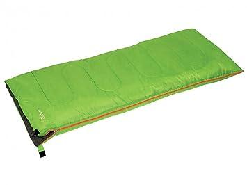 BERTONI - Saco de Dormir Easy Nailon - Color Verde Manzana - Medidas 190 x 75