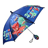 Disney Little Boys' PJ Masks Assorted Character Rainwear Umbrella, Blue, Age 3-7