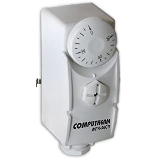 COMPUTHERM wpr-90gd Clamp-On Tubo tanque de mounted Cilindro de agua caliente termostato