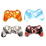 Cheap Silicon Protective Skin Case Cover for Sony Playstation PS3 Remote Controller – 4 pack Silicone Protective Game Controller Case
