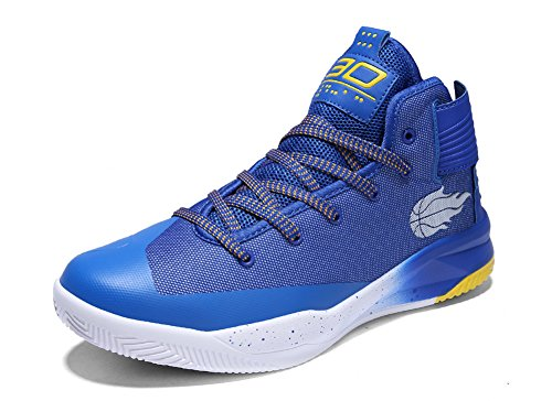 No.66 TOWN Women's Men's Athletic Running Shoes Sneaker,Basketball Shoes Size Size 9.5/8 Blue