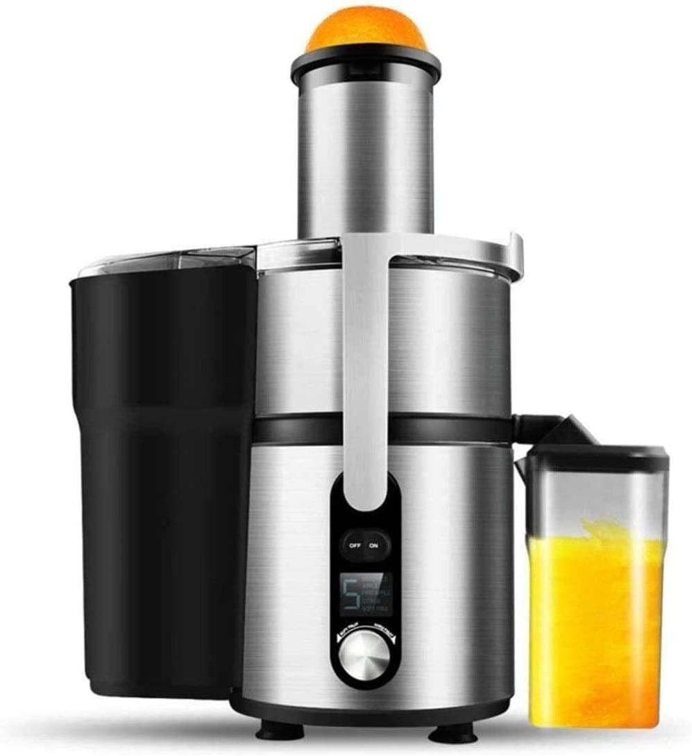 Sugarcane Juice Machine Commercial Home Juicer Residue Was Separated Juice Fresh Fruit Juice Large-caliber Automatic Machine (Color : -, Size : -)