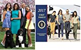 Obama First Family ''2017'' 12 Month Calendar & Keepsake Mini Poster