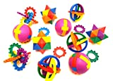 Puzzle Balls For Children, By Dondor (24 Pack)