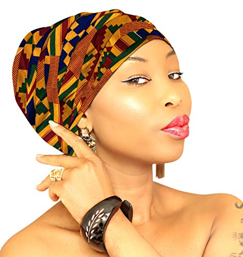 African Head Wrap Women Large 72