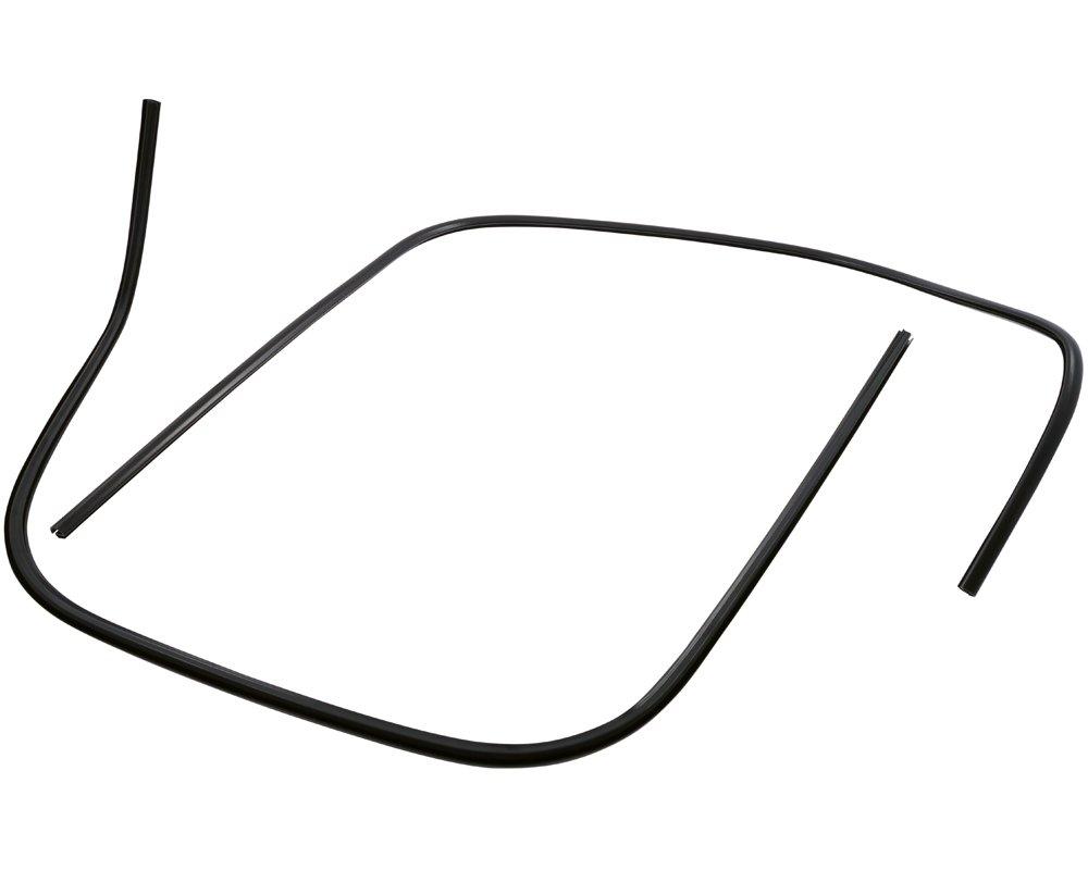 SIP Left + Right, Matt Black, Plastic, Mono Slot Tube Leg Shield