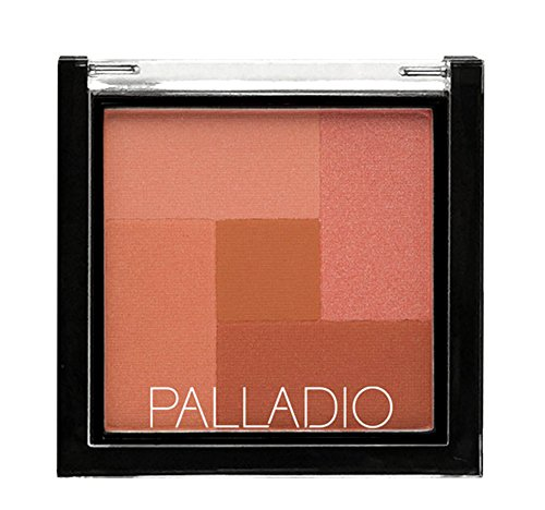 Palladio 2-In-1 Mosaic Powder Blush & Bronzer, Desert Rose