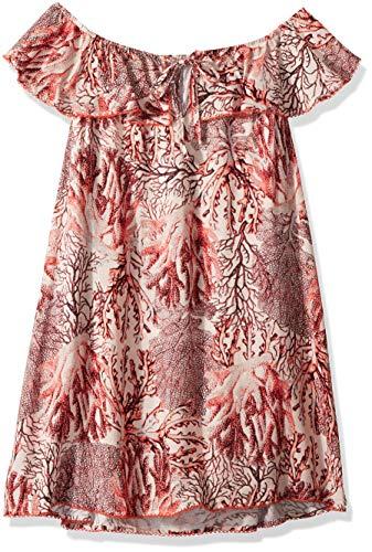 Maaji Des Femmes De 1689kkc02 Étoiles De Mer Souhaite Filles Maillots De Bain Robe Courte Couverture En Orange