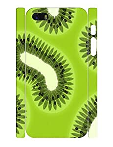Fruits Theme Smart Phone Case With Kiwi Fruit Design Back Case Cover for Iphone 5c