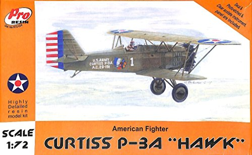 PRO Resin 1:72 Curtiss P-3 A Hawk American Fighter