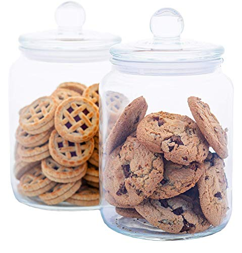 Airtight Glass Cookie and