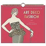 Art Deco Fashion 2017 Wall Calendar