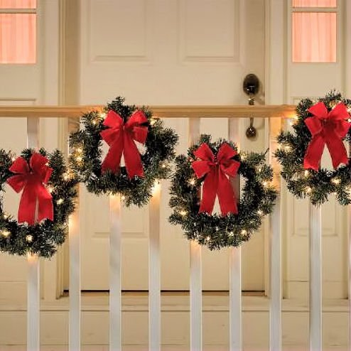 Lighted Outdoor Wreaths in US - 8