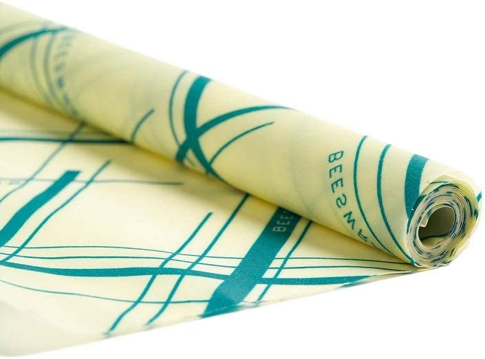Bee's Wrap Reusable Beeswax Food Wrap, Extra Large XXL Roll - Eco Friendly, Plastic Free, All Natural Storage Wrap - 14
