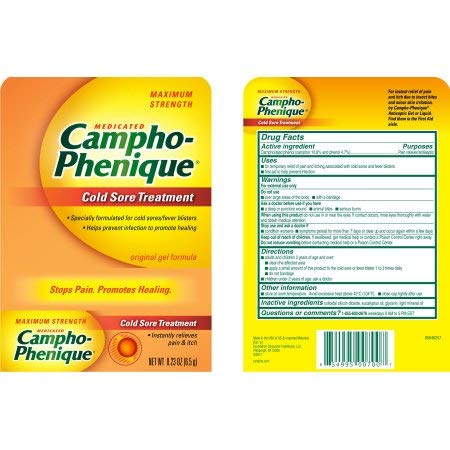 Campho-phenique Cold Sore (Pack of 12) by Generic