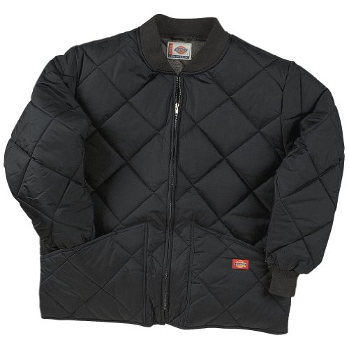 - Dickies Diamond Quilted Nylon Work Jacket Black