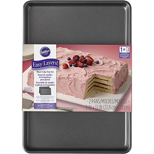 Wilton Easy Layers! Sheet Cake Pan, 2-Piece Set