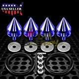 JDM Blue Spiked Quick Release Fasteners For Car Bumpers Trunk Fender Hatch Lids Kit from JDMBESTBOY