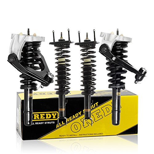 2000 00 Sebring Convertible - OREDY Front Rear Full Pair Complete Quick Struts Shock Coil Spring Assembly Kit for 1999-2000 Chrysler Sebring 6CYL 2.5Liter Convertible FWD Set of 4
