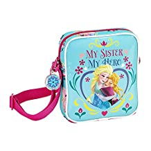 Frozen Childrens/Girls My Sister My Hero Mini Shoulder Bag (One Size) (Multicolored)