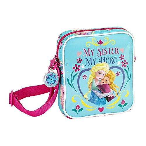 Frozen–My Sister My Hero–Borsa a tracolla 18x 16x 4cm–611515222.