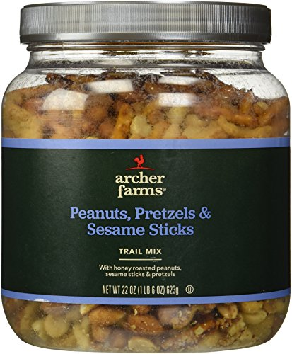 Archer Farms Peanuts Pretzels Amp Sesame Sticks Trial Mix