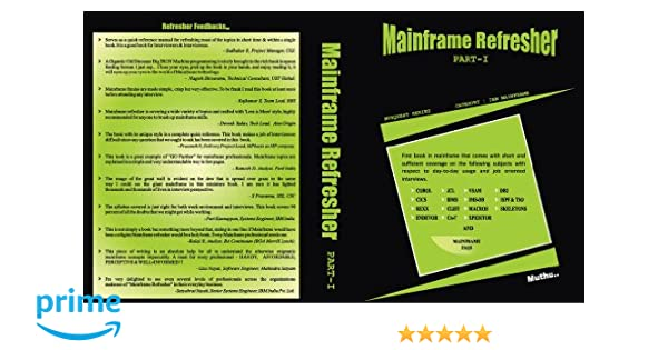 Mainframe Refresher Pdf