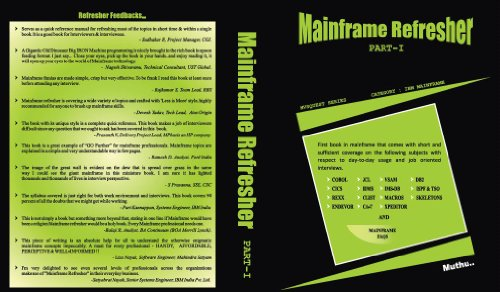 Mainframe Refresher Part 1 (MAINFRAME REFRESHER PART 1) ()