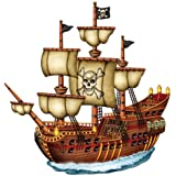 Jointed Pirate Ship Party Accessory (1 count) (1/Pkg)