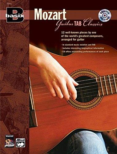 Basix Guitar TAB Classics -- Mozart Book & CD (Basix(R) Series) (Tapa Blanda)