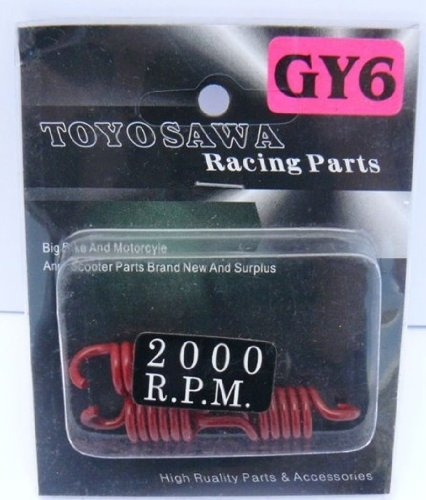 2000 RPM 150cc Gy6 Street Scooter Performance Racing Clutch Springs Tank Lance