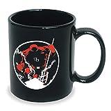 ICUP Marvels Daredevil Hells Kitchen Ceramic Mug, 20 oz, Black